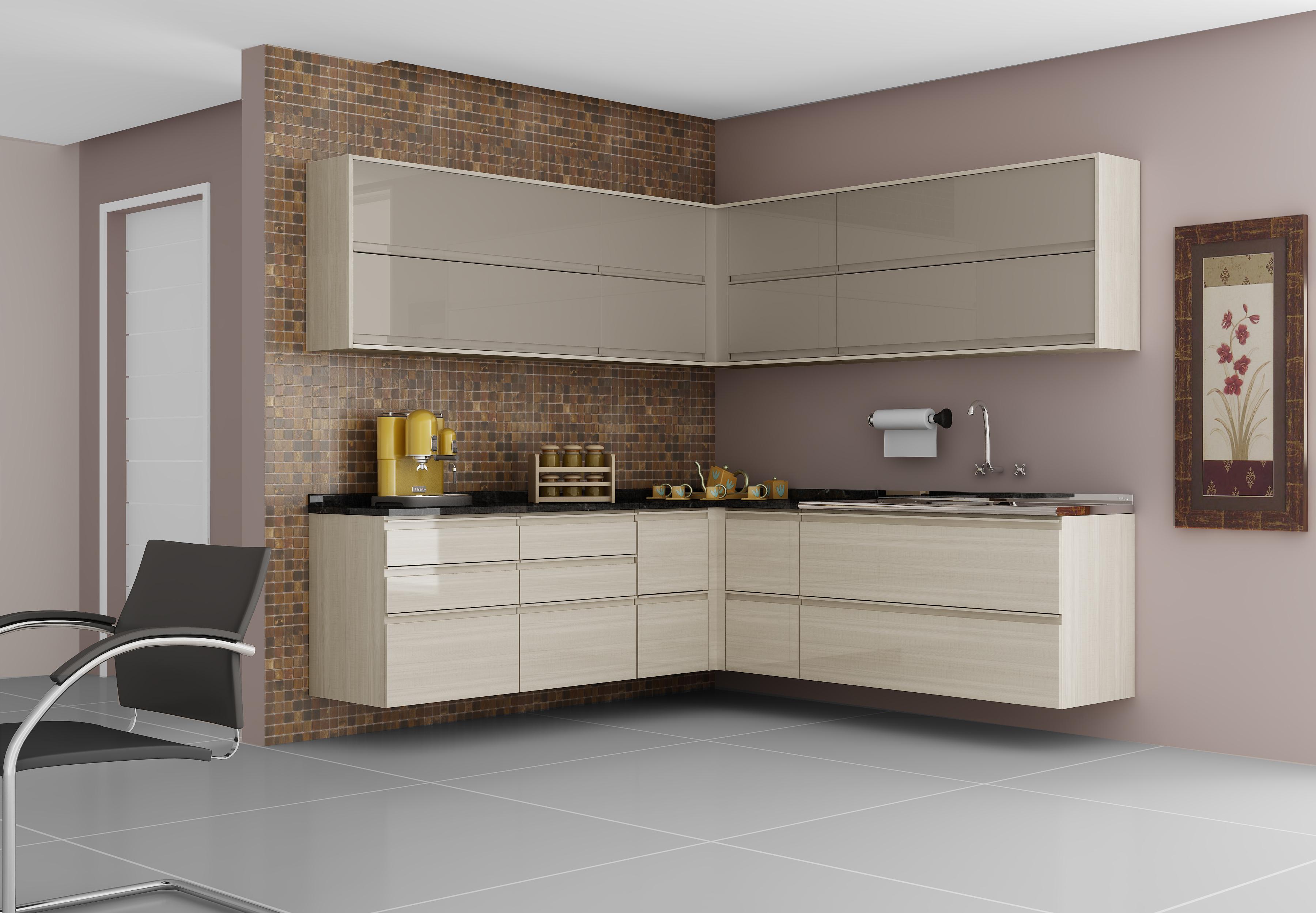 Cozinha Itatiaia de Madeira: (fazemos sob medida de acordo com o seu  #9B8530 3600 2499