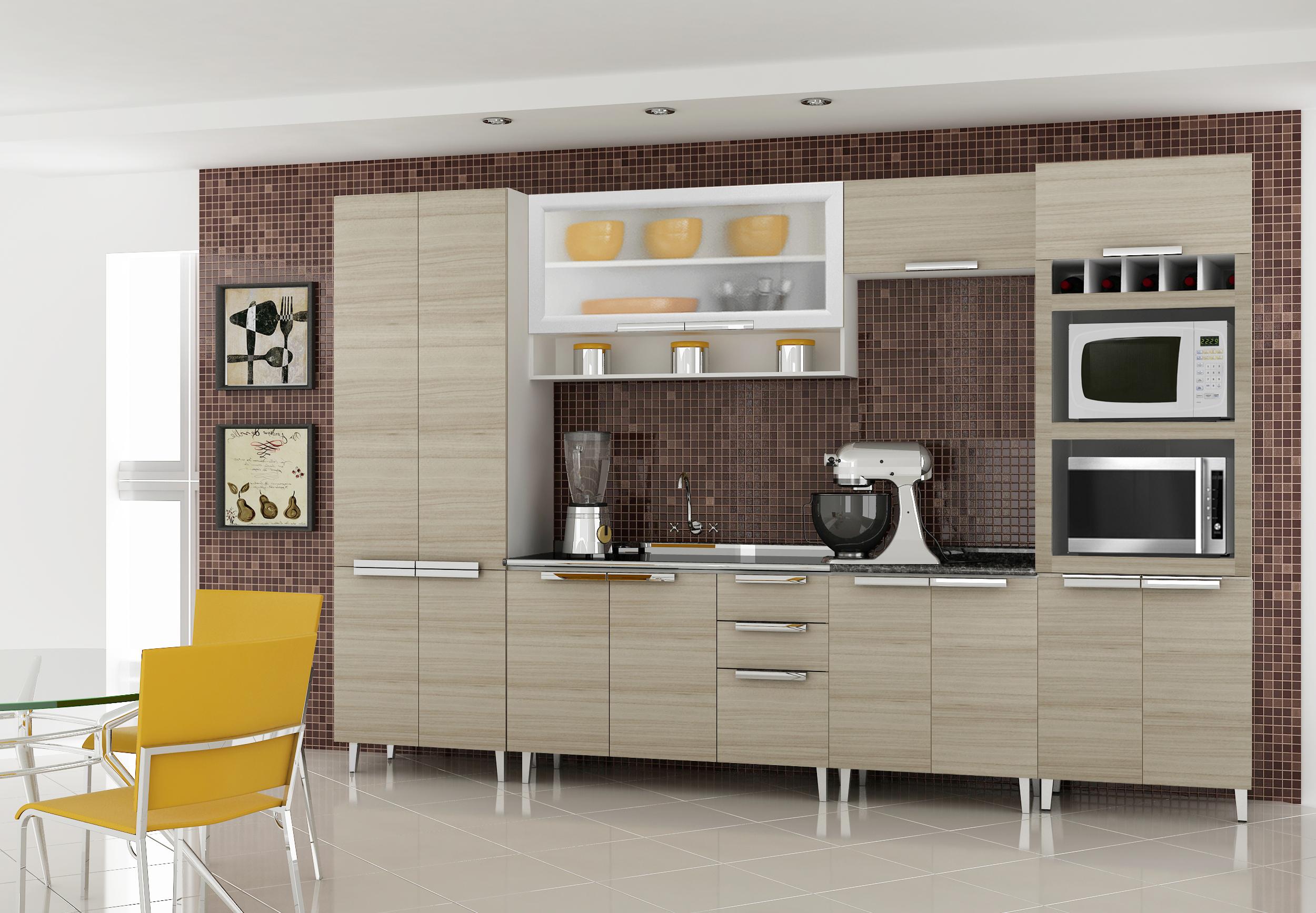 #A68425 Cozinha Itatiaia de Madeira: (fazemos sob medida de acordo com o seu  2500x1735 px Fornecedores De Cozinha_754 Imagens